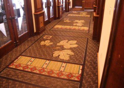 Lubbock Country Club Hallway & Breakfast Room