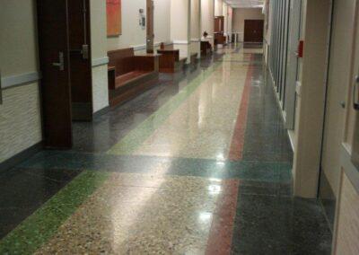 Texas Tech Administration Building Hallways