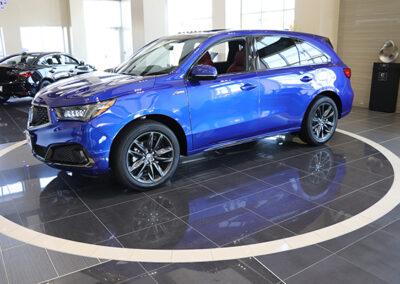 Acura Dealership: New Car Showroom
