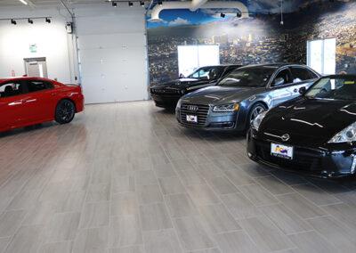 Acura Dealership: Used Car Showroom