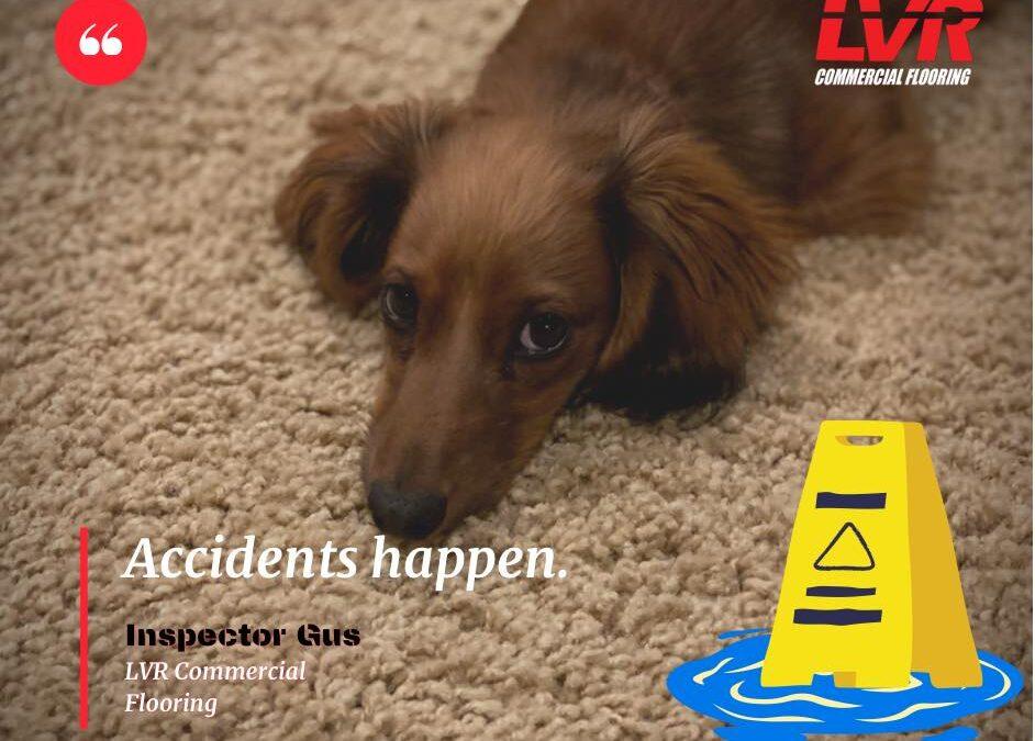 Accidents happen!