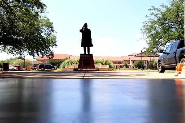 Texas Tech University Administration Building Entrance